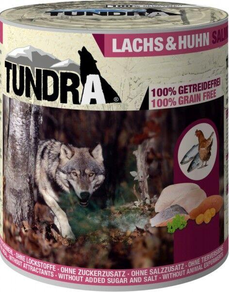 Tundra Dog Lachs & Huhn 800g Dose