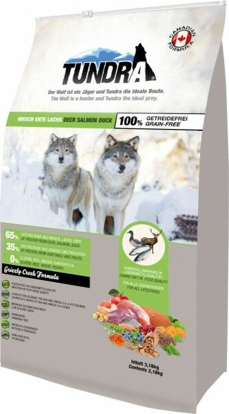 Tundra Hirsch, Ente & Lachs - Grizzly Creek 3,18kg