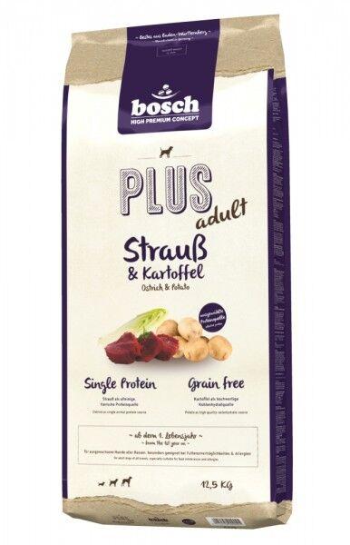 Bosch PLUS Strauß & Kartoffel 12,5 kg