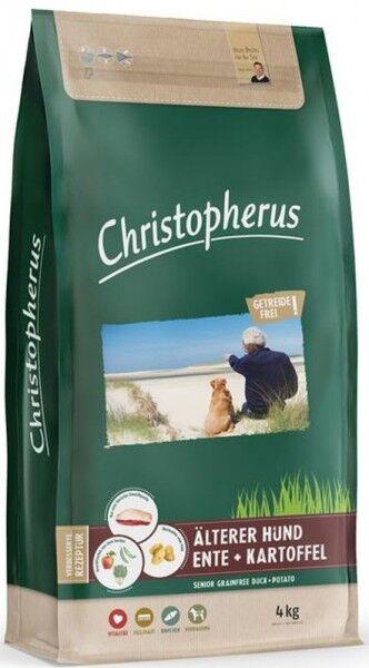 Allco Christopherus Getreidefrei Älterer Hund Ente+Kartoffel - 4kg Beutel