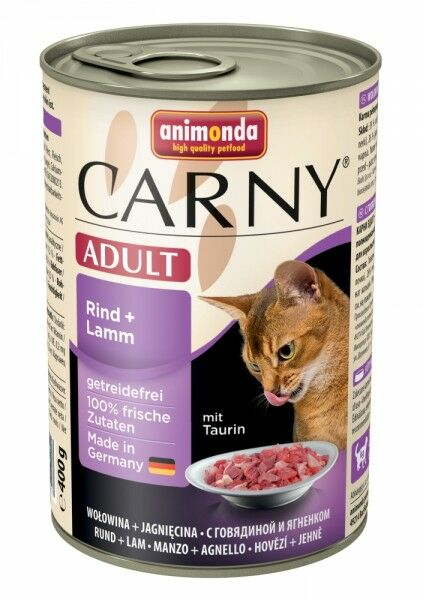 Animonda Carny Adult Rind & Lamm - 400g Dose