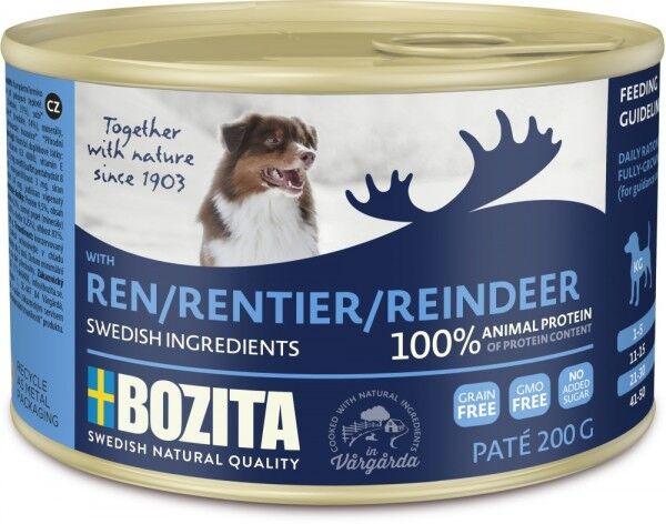 Bozita Dog Dose Paté Rentier 200g