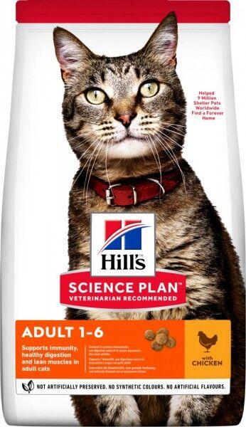 Hills Science Plan Katze Adult Huhn 3kg