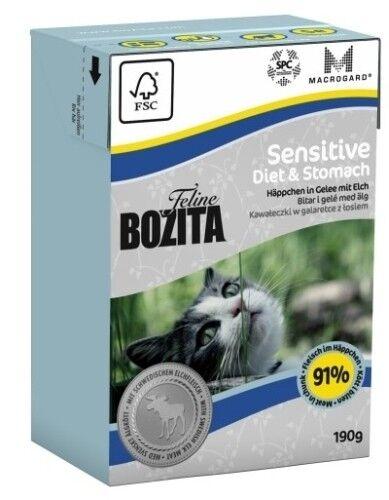 Bozita Cat Tetra Recard Diet & Stomach - Sensitve 190g