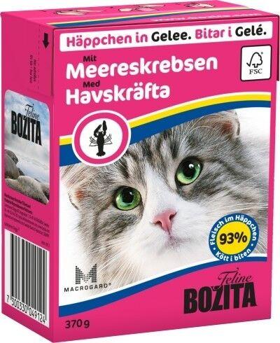 Bozita Cat Tetra Recard Häppchen in Gelee Meereskrabben 370g
