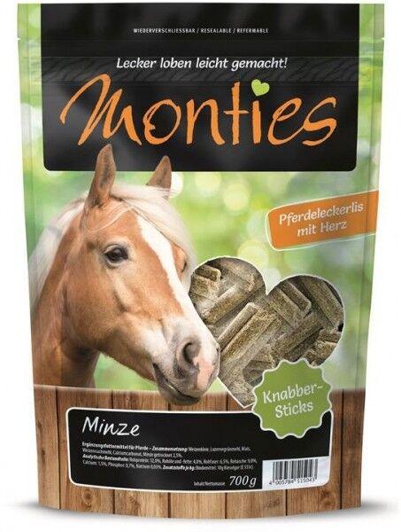 Allco Monties Minze Sticks - 700g Beutel
