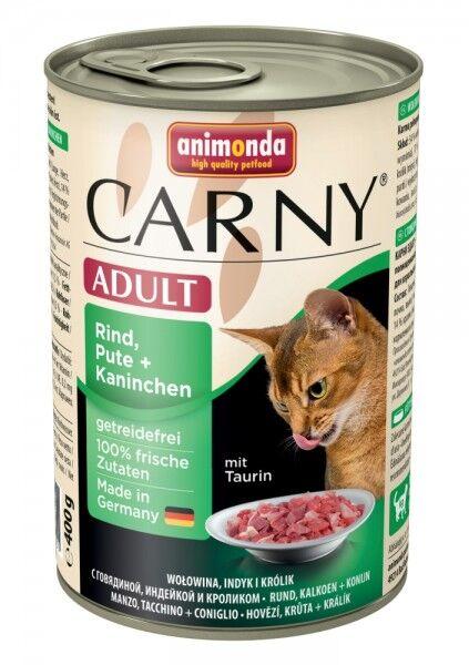 Animonda Carny Adult Rind & Pute & Kaninchen - 400g Dose