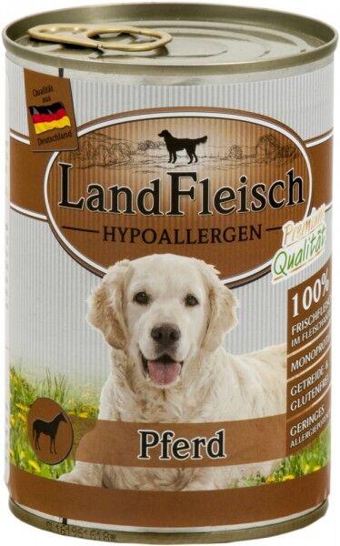 LandFleisch Hypoallergen Pferd 400g Dose