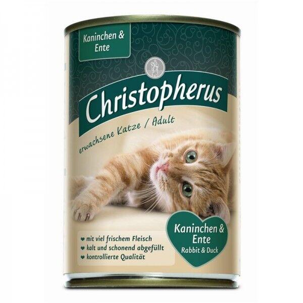 Christopherus Cat Dose Adult Kaninchen & Ente 400