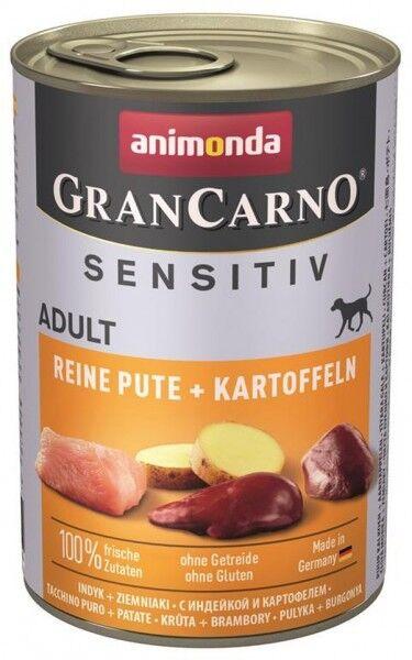 Animonda GranCarno Adult Sensitive Pute + Kartoff