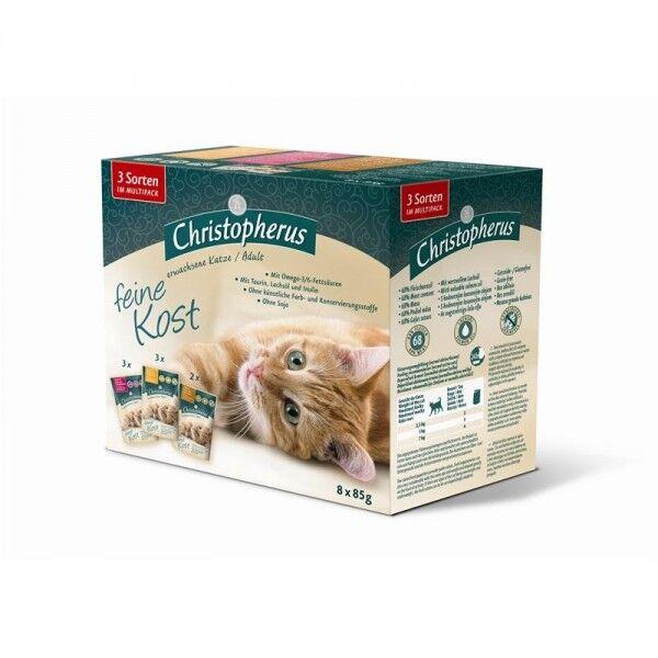 Christopherus Katze Pouch Multipack 8 x 85 g