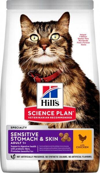 Hills Science Plan Katze Adult Sensitive Stomach & Skin H