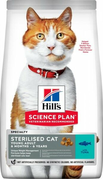 Hills Science Plan Katze Young Adult Sterilised Cat Thunf
