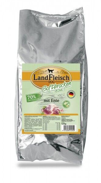 Landfleisch Softbrocken Adult mit Ente 1,5kg