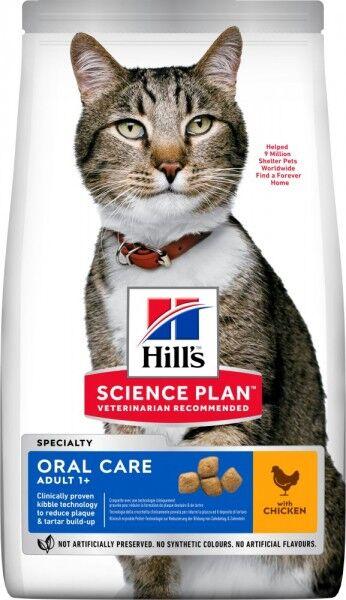 Hills Science Plan Katze Adult Oral Care Huhn 7kg