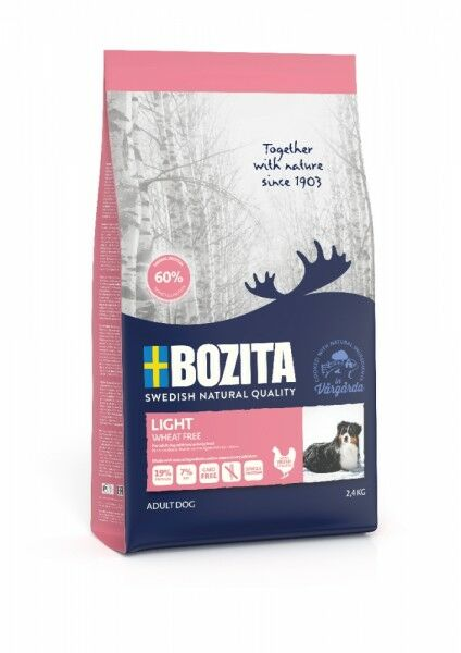 Bozita Naturals Light 2,4 kg