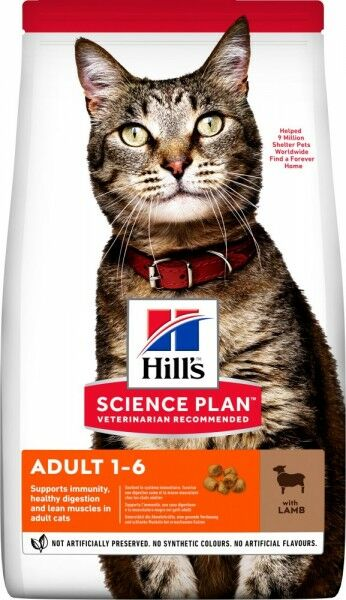 Hills Science Plan Katze Adult Lamm & Reis 10kg