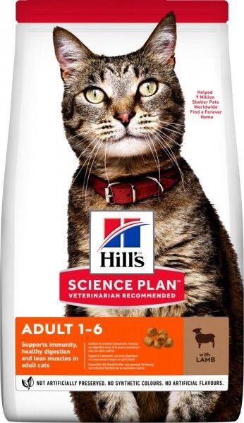 Hills Science Plan Katze Adult Lamm & Reis 1,5kg