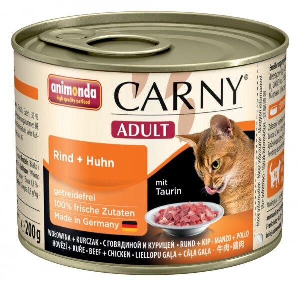 Animonda Carny Adult Rind & Huhn - 200g Dose