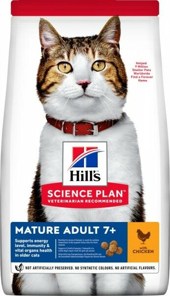 Hills Science Plan Katze Mature Adult 7+ Huhn 300g