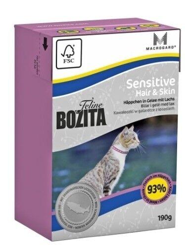 Bozita Cat Tetra Recard Hair & Skin - Sensitive 190g