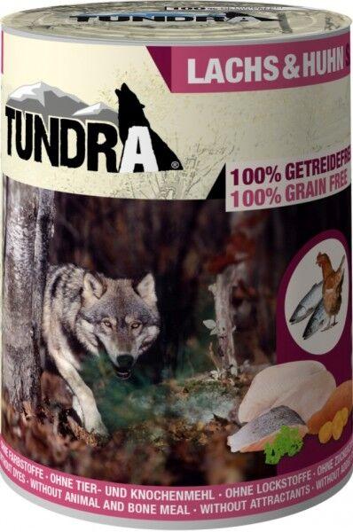 Tundra Dog Lachs & Huhn 400g Dose