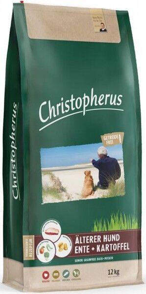 Allco Christopherus Getreidefrei Älterer Hund Ente+Kartoffel - 12kg Sack