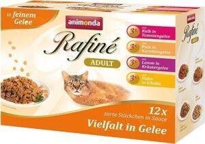 Animonda Cat Portionsbeutel Rafine Soupé im Multipack 12 x 100g