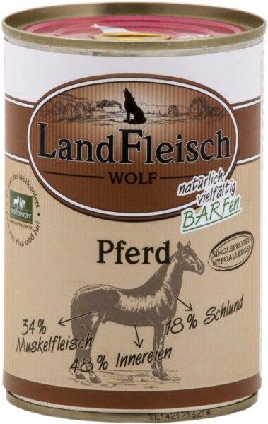 LandFleisch Hunde Dose Wolf Sensibel Pferd 400g