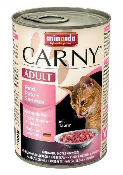 Animonda Cat Dose Carny Adult Rind & Pute & Shrimps 400g
