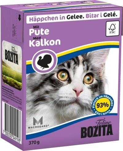 Bozita Cat Tetra Recard Häppchen in Gelee Pute 370g