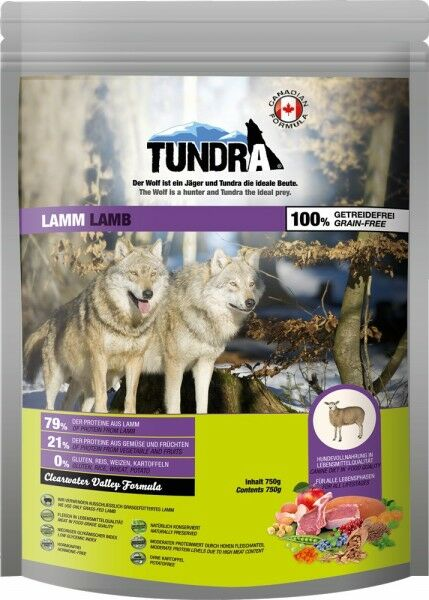 Tundra Lamm - Clearwater Valley 750g
