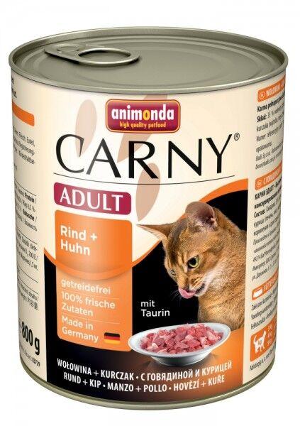 Animonda Cat Dose Carny Adult Rind & Huhn 800g