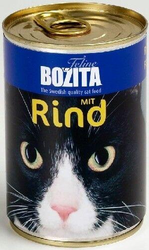 Bozita Cat Nassfutter Rind 410g